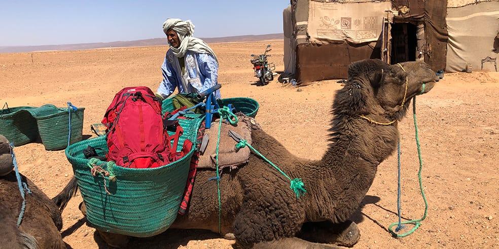 TRANSITの旅にkarrimorを。モロッコ編