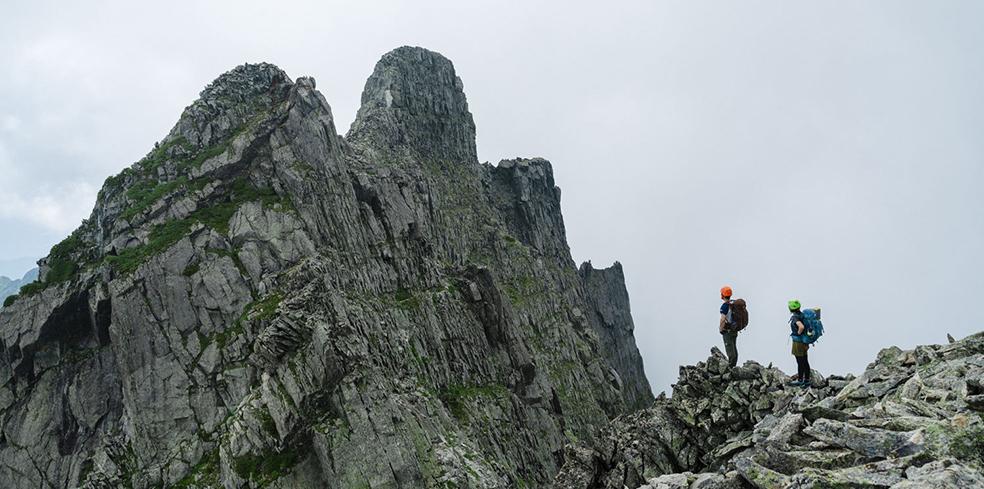 karrimor カリマー | mountain journal vol.28 西穂高岳〜ジャンダルム ...